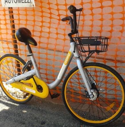 VENARIA - Le biciclette Obike finite di nuovo nel mirino di vandali e ladri
