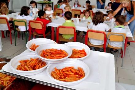 DRUENTO - Dal 10 luglio al 20 agosto le iscrizioni on-line alla mensa scolastica