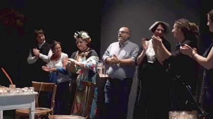 VENARIA - Si alza il sipario su «12.6 Lumen»: e la prima è già un successo
