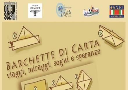 VENARIA - Al via in Biblioteca la rassegna «Barchette di Carta: viaggi, miraggi, sogni e speranze»