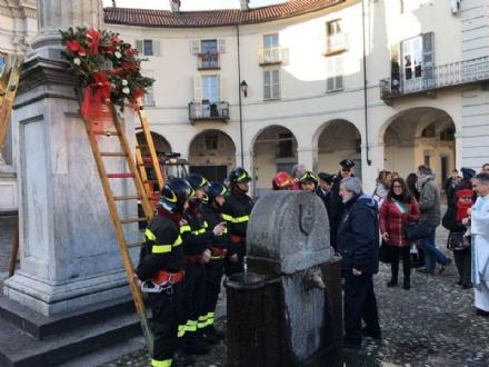 VENARIA - «NATALE A VENARIA REALE»: Domattina i vigili del fuoco omaggiano lImmacolata