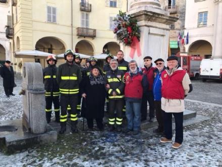 VENARIA - FESTA DELLIMMACOLATA - Lomaggio di pompieri, Pro Loco e La Crisalide di Ieri e di Oggi