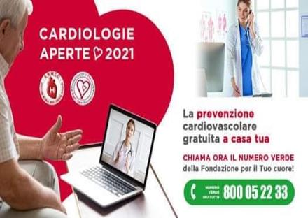 ZONA OVEST - Torna lappuntamento con «Cardiologie Aperte», in modalità telefonica
