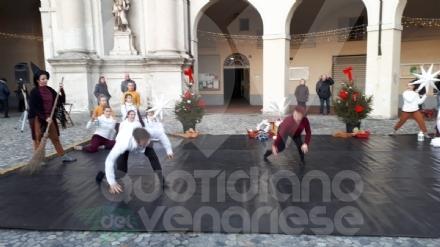 VENARIA - La danza contemporanea chiude le festività natalizie in città