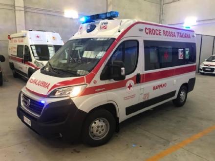 MAPPANO - La Croce Rossa si dota di una nuova ambulanza
