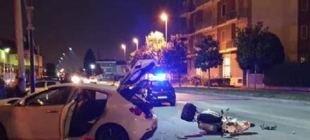 MAPPANO-LEINI - La Vespa si scontra con lAlfa: macellaio 55enne in gravi condizioni