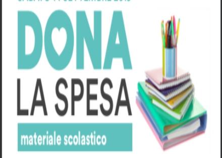 RIVOLI-COLLEGNO - Torna «Dona la Spesa speciale scuola»: raccolta per le famiglie in difficoltà
