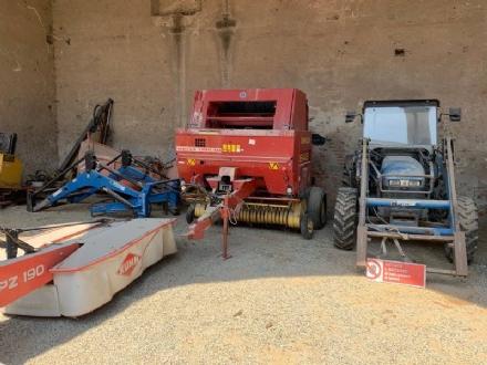 MANDRIA - LEnte Parco mette in vendita alcune macchine e attrezzature agricole