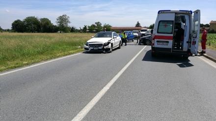 DRUENTO-PIANEZZA-SAVONERA - Ancora un incidente lungo la provinciale: tre feriti
