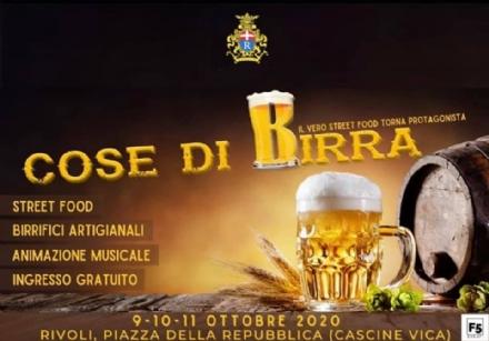 RIVOLI - In piazza della Repubblica, fino a domenica, arriva «Cose di Birra»