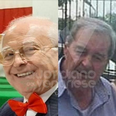 VENARIA-DRUENTO - Associazioni in lutto per la morte di Italo Rocchetti e Giacinto Cargnino