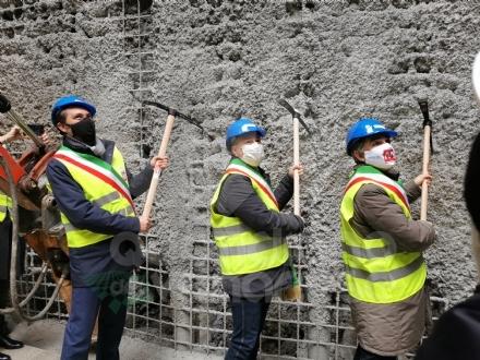 COLLEGNO - Partiti gli scavi per la stazione «Collegno Centro» della metropolitana - FOTO