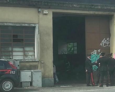 COLLEGNO - Blitz di carabinieri e polizia allex Vivai Aiassa: sgomberati 26 abusivi