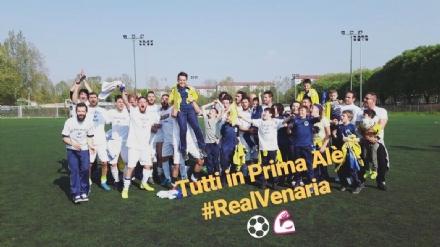 SPORT - Il Real Venaria vola in Prima Categoria. Successo per il Venaria in Promozione