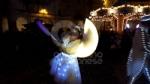 VENARIA - Il grande cervo in piazza Annunziata è stato illuminato: il Natale è iniziato in città - immagine 10