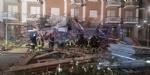 BORGARO - CROLLA IL PONTEGGIO DI UN PALAZZO: ATTIMI DI TERRORE IN VIA INGHILTERRA - FOTO - immagine 10