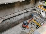 COLLEGNO - Partiti gli scavi per la stazione «Collegno Centro» della metropolitana - FOTO - immagine 10