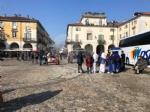 VENARIA - Il centro città set del film «Corro da te» con Pierfrancesco Favino e Miriam Leone FOTO - immagine 11