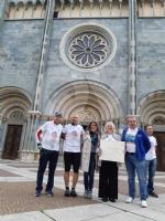 VENARIA - Comune, Pro Loco e FreeBike insieme alla «Giornata mondiale dei Giovani per la Pace» - immagine 12