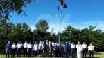 VENARIA - La bandiera dei marinai torna a sventolare nel cielo della Reale - FOTO - immagine 12
