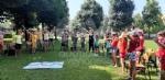 COLLEGNO-GRUGLIASCO - I bambini dei centri estivi hanno ringraziato i medici dellAsl To3 - FOTO - immagine 12