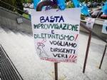 VENARIA-RIVOLI - «#InSilenzioComelaRegione», la protesta dei sindacati negli ospedali Asl To3 - FOTO E VIDEO - immagine 12