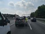 VENARIA-BORGARO - Scontro in tangenziale: tre auto coinvolte, due i feriti - immagine 12
