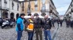 VENARIA - «Un motogiro per unire»: piazza Annunziata tinta di blu ha accolto centinaia di Harley - immagine 12