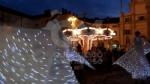 VENARIA - Il grande cervo in piazza Annunziata è stato illuminato: il Natale è iniziato in città - immagine 12