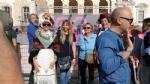 GIRO DITALIA A VENARIA - Grande folla per la carovana del Giro - FOTO - immagine 13