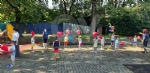 COLLEGNO-GRUGLIASCO - I bambini dei centri estivi hanno ringraziato i medici dellAsl To3 - FOTO - immagine 14