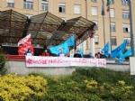 VENARIA-RIVOLI - «#InSilenzioComelaRegione», la protesta dei sindacati negli ospedali Asl To3 - FOTO E VIDEO - immagine 14