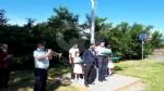 VENARIA - La bandiera dei marinai torna a sventolare nel cielo della Reale - FOTO - immagine 15