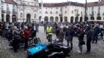 VENARIA - «Un motogiro per unire»: piazza Annunziata tinta di blu ha accolto centinaia di Harley - immagine 15