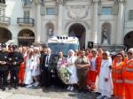 VENARIA - Un defibrillatore e unambulanza per i 40 anni della Croce Verde Torino - immagine 16