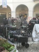 VENARIA - Il centro città set del film «Corro da te» con Pierfrancesco Favino e Miriam Leone FOTO - immagine 16