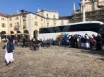 VENARIA - Il centro città set del film «Corro da te» con Pierfrancesco Favino e Miriam Leone FOTO - immagine 17