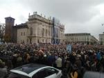 TORINO - In piazza per sostenere la Tav da tutti i Comuni della zona - FOTO - immagine 6
