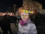 VENARIA - Tante «sardine» venariesi alla manifestazione di questa sera in piazza Castello - immagine 1