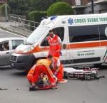 VENARIA - Motociclista ferito gravemente dopo lo scontro con unauto - immagine 1