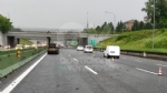 VENARIA REALE - Brutto incidente, tangenziale nord di Torino in tilt: due feriti al Maria Vittoria - FOTO - immagine 1