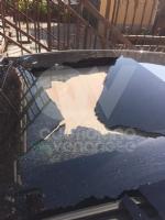 TORINO-BORGARO - Sassi contro una Fiat 500 in transito lungo la tangenziale: conducente ferito - immagine 1