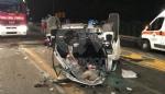 DRUENTO-VENARIA - Terribile incidente sulla Sp1 della Mandria: due ragazzi feriti - FOTO - immagine 1