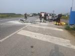 TRAGEDIA A PIOSSASCO - Motociclista di Grugliasco muore in un incidente stradale - FOTO - immagine 1