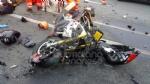 GRUGLIASCO - Scontro fra moto e auto in strada Antica di Grugliasco: centauro ferito - immagine 1