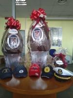 SOLIDARIETA - Uova di Pasqua e colombe donate da pompieri e polizia municipale a ospedali e residenze per anziani - immagine 2