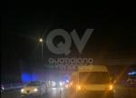 VENARIA - Tamponamento in tangenziale tra unauto e tre furgoni: una donna ferita - FOTO - immagine 1