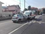 INCIDENTE MORTALE A LANZO - Auto contro ambulanza: muore un uomo di Mathi, tre feriti sul mezzo di soccorso - immagine 1