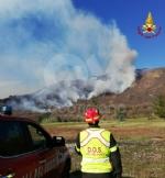 A FUOCO IL MUSINE - Pompieri ancora in azione: potrebbe essere un atto doloso - FOTO - immagine 1