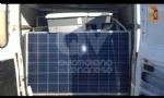 RIVOLI - Furgone abbandonato in tangenziale: allinterno 51 pannelli fotovoltaici, rubati - immagine 1